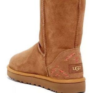 Ugg Australia Classic Short chestnut Boot Rare